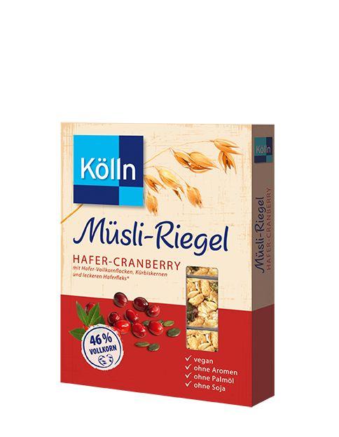 Kölln Müsli-Riegel Hafer-Cranberry
