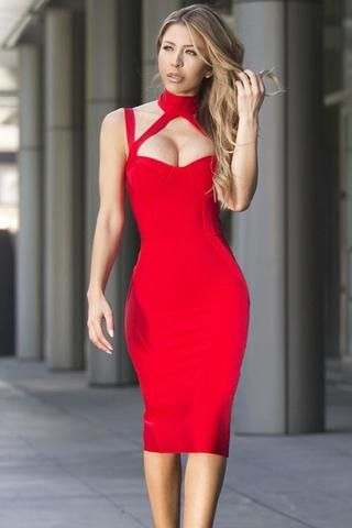 Bandage dresses for sale cheap