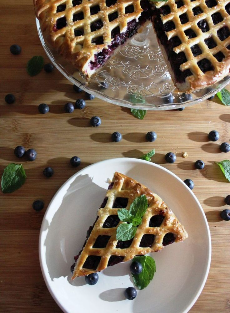 Blueberry Pie – FullyStuffedGeek