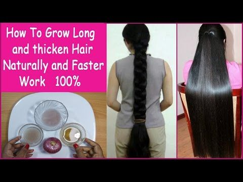 Onion Hair Oil - Fast Hair Regrowth, Hair Loss, Long & thick hair - Scientifically Proven - YouTube