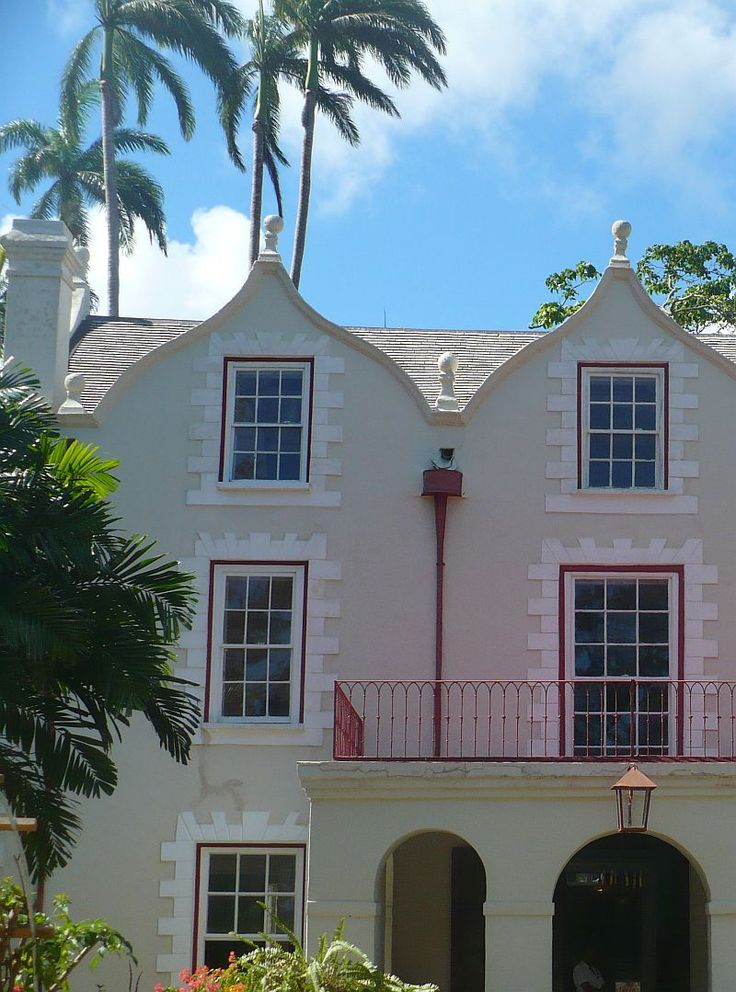 St.Nicholas Abbey in Barbados was built in 1658 and is one of only three genuine Jacobean mansions left in the Western Hemisphere.