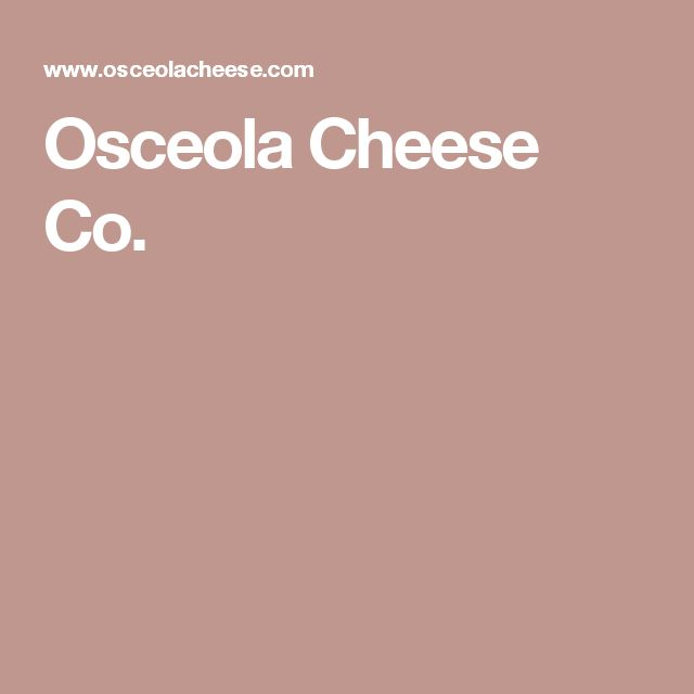 Osceola Cheese Co.