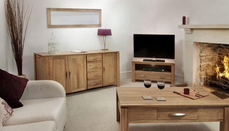 Galway Solid Oak Funiture Range Oak Living Room Furniture Collection   Oak Furniture Land www.oakfurnitureland.co.uk