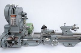 main view Myford  ML7 Trileva gearbox lathe for sale K99731