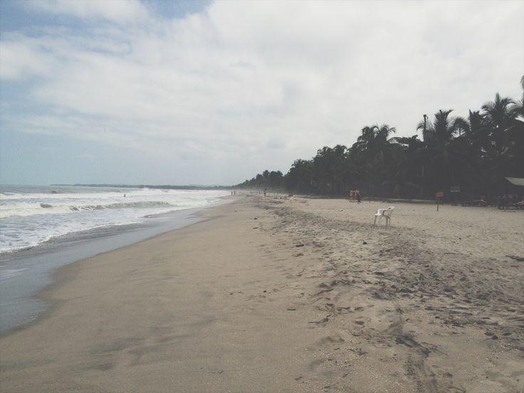EMPTY CHAIR (Palomino, 2014) #emptychair #lasillavacia #palomino #sea #palms #tropical #wild #wildbeach #photography #photo #pic #iPhone #iPhone4s #iPhonePhotography