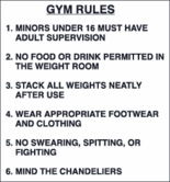 Etiquette Rules | Following some basic rules at the gym will improve your gym going ...