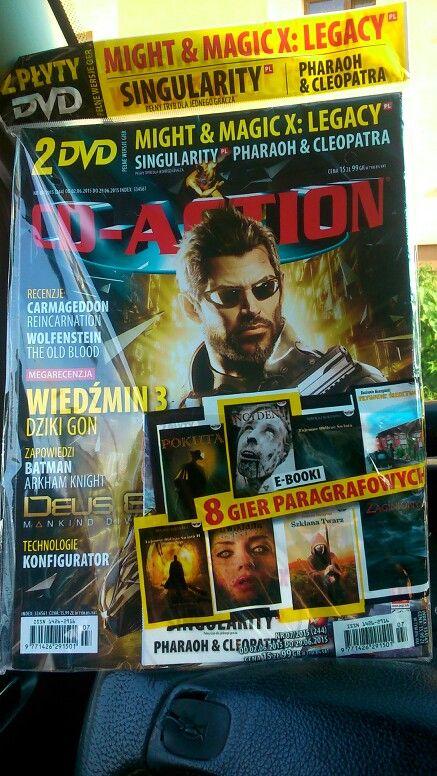 Jesteśmy w najnowszym (7/2015) CD-Action :)