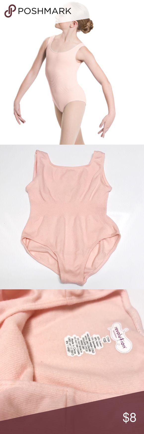 Pink Leotard Toddler Revolution Dance Toddler Leotard (XS) in Pink.  Worn and washed once. Revolution Dancewear One Pieces Bodysuits
