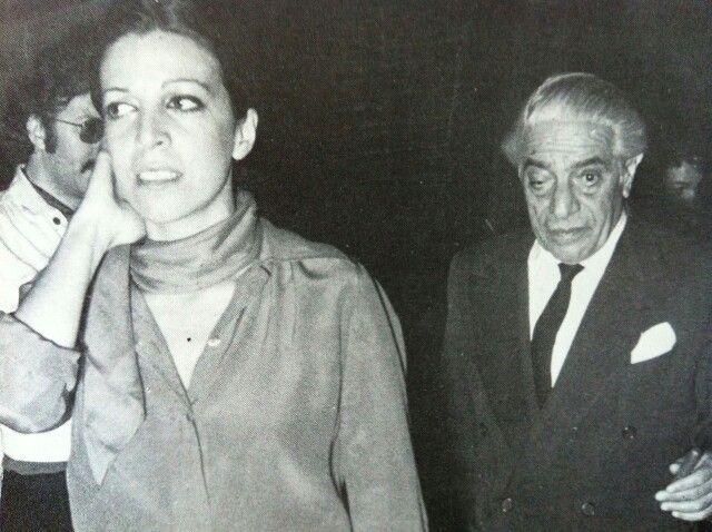 Aristotle and Christina Onassis
