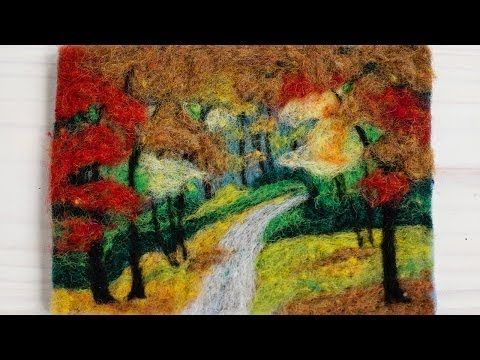 Fall Foliage Instructions - YouTube