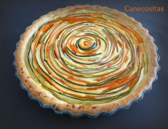 Tarta de zanahoria y calabacín 1 thermomix