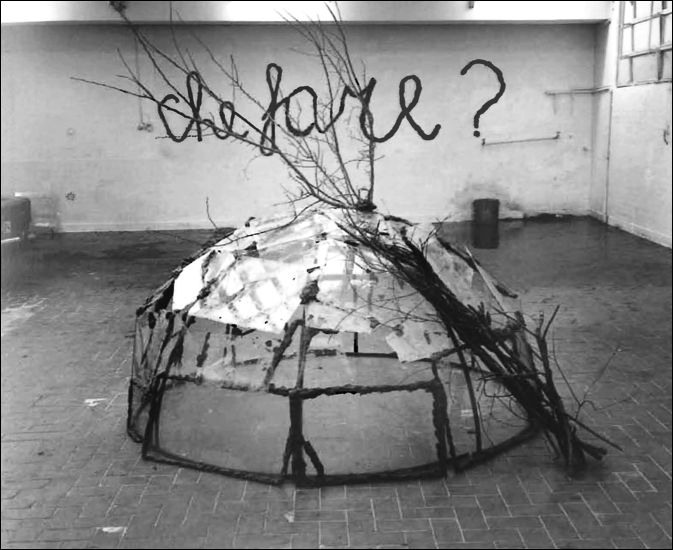 Mario Merz, Che fare? (What is to be done?), 1969