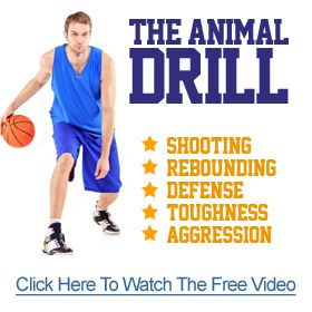Youth Basketball Drills – 3 on 2 then 2 on 1 Drill
