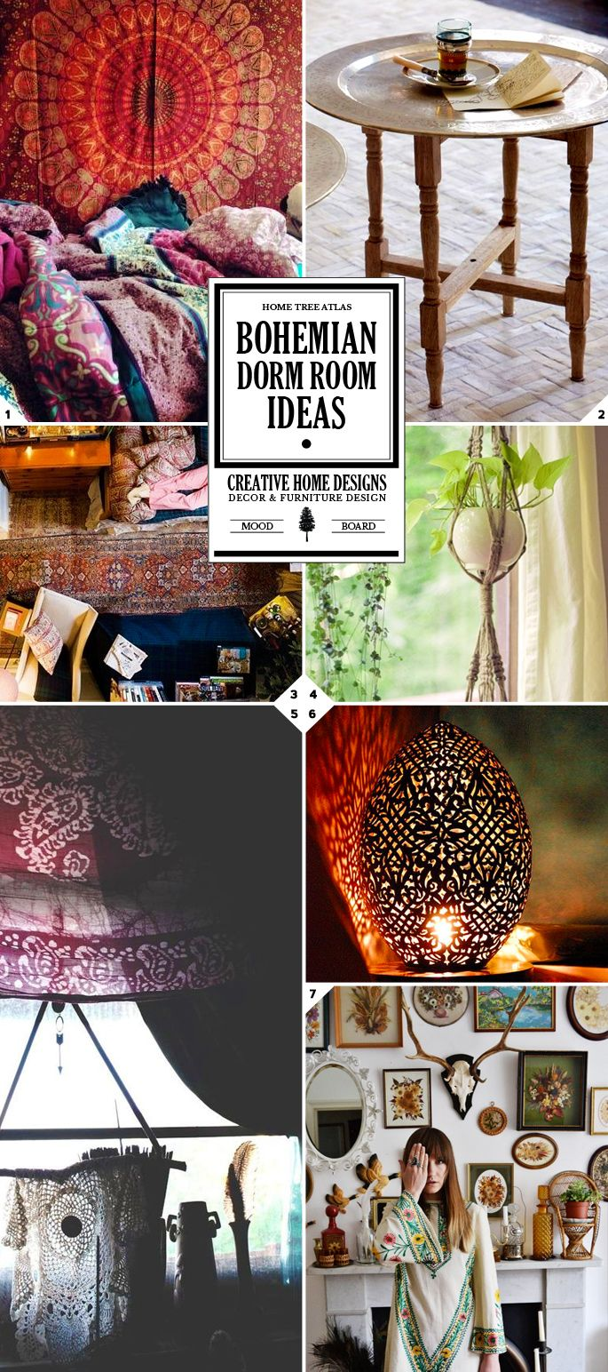 The Free Spirit: Bohemian Dorm Room Ideas