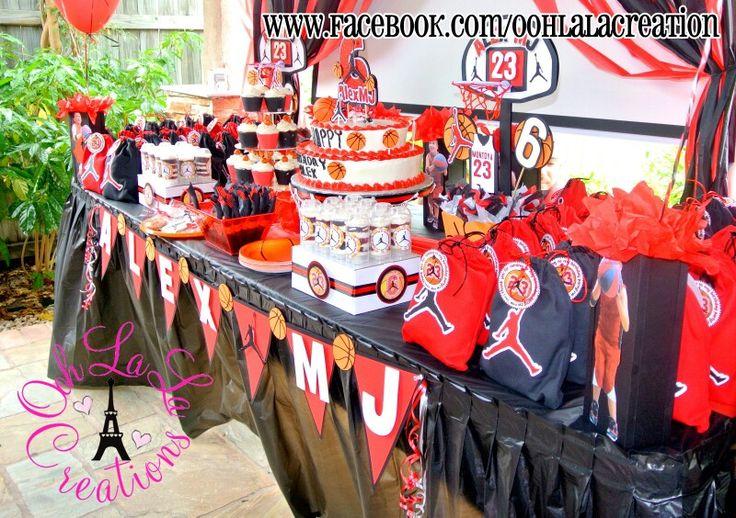 Michael Jordan Party Supplies