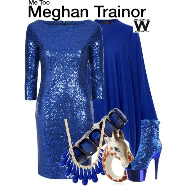 """Inspired by Meghan Trainor in her 2016 music video for """"Me Too""""."""