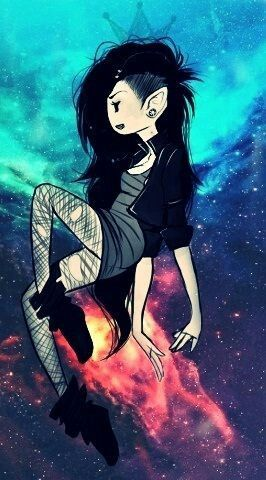 Adventure time art Its cool and all but idk marcelene's more of a goth than a hipster