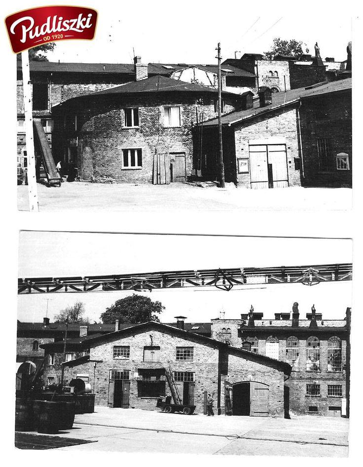 1968r. - Widok fabryki w Pudliszkach #pudliszki #historia
