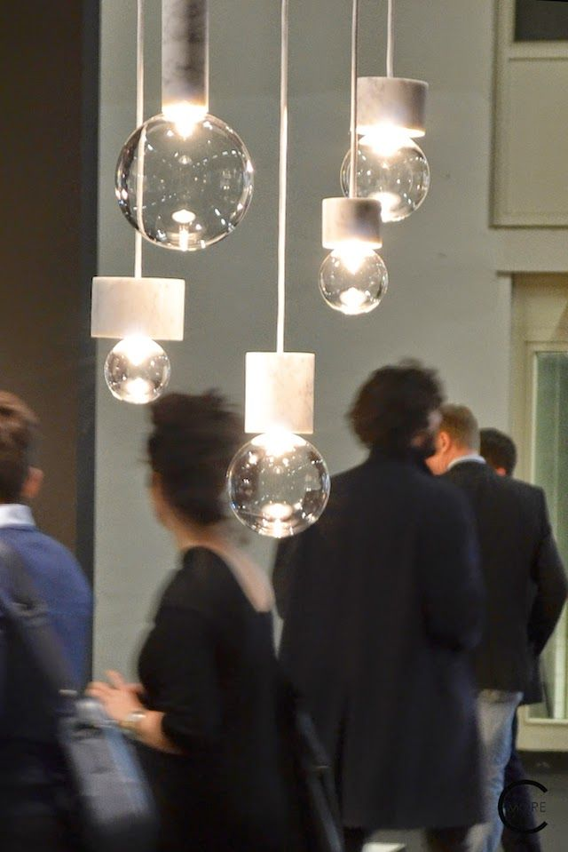 Lighting fixtures by & Tradition spotted by C-More interiorblog at IMM Cologne 2015
