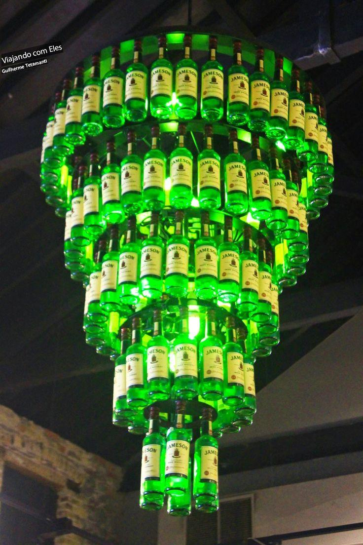 ECO - Luminária e Abajur de Material Reciclado!