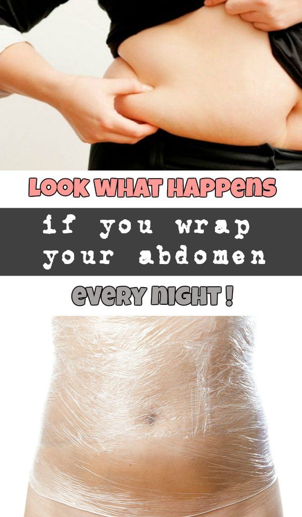 Look what happens if you wrap your abdomen every night! - WomenIdeas.net