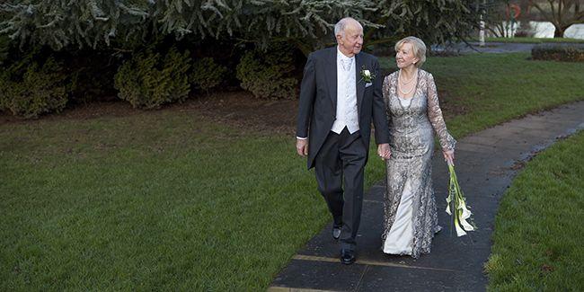 Wedding Dresses for mature brides, second time around::Lesley Cutler Bridalwear 01908 690899