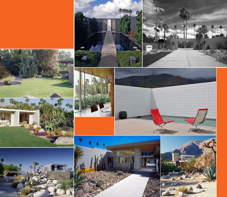 find this pin and more on desert landscape mid century modern landscaping ideas