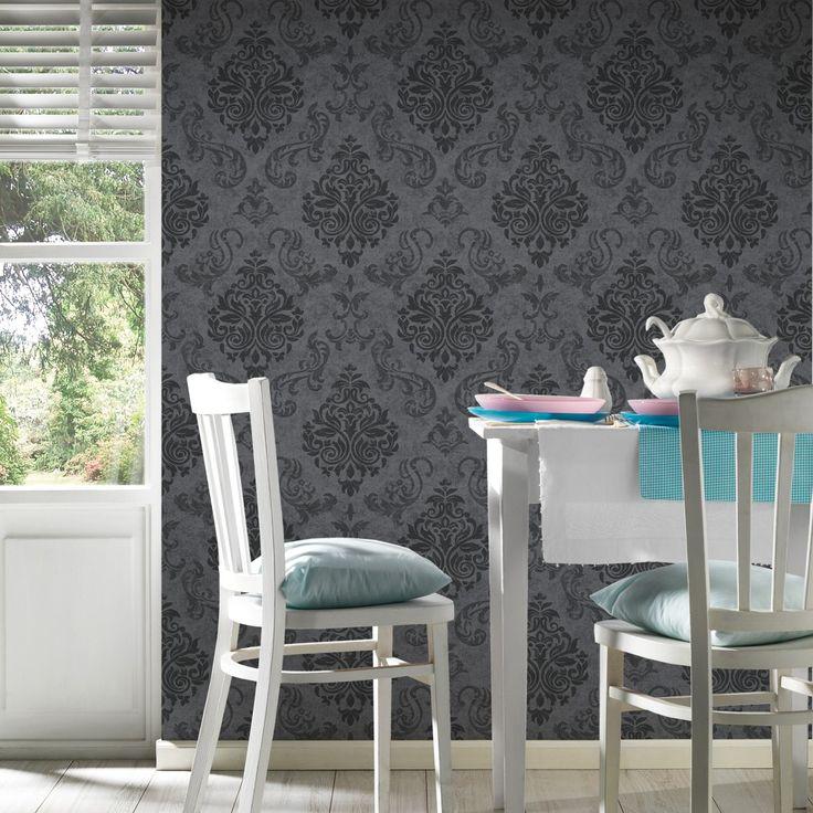 Die besten 25+ Graues raumdekor Ideen auf Pinterest Graues - graue tapete wohnzimmer