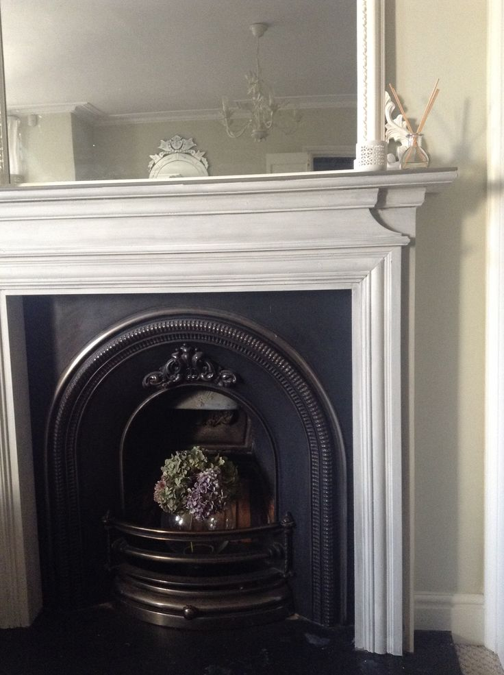 Fireplace Makeover In Annie Sloan Chalk Paint Undercoat