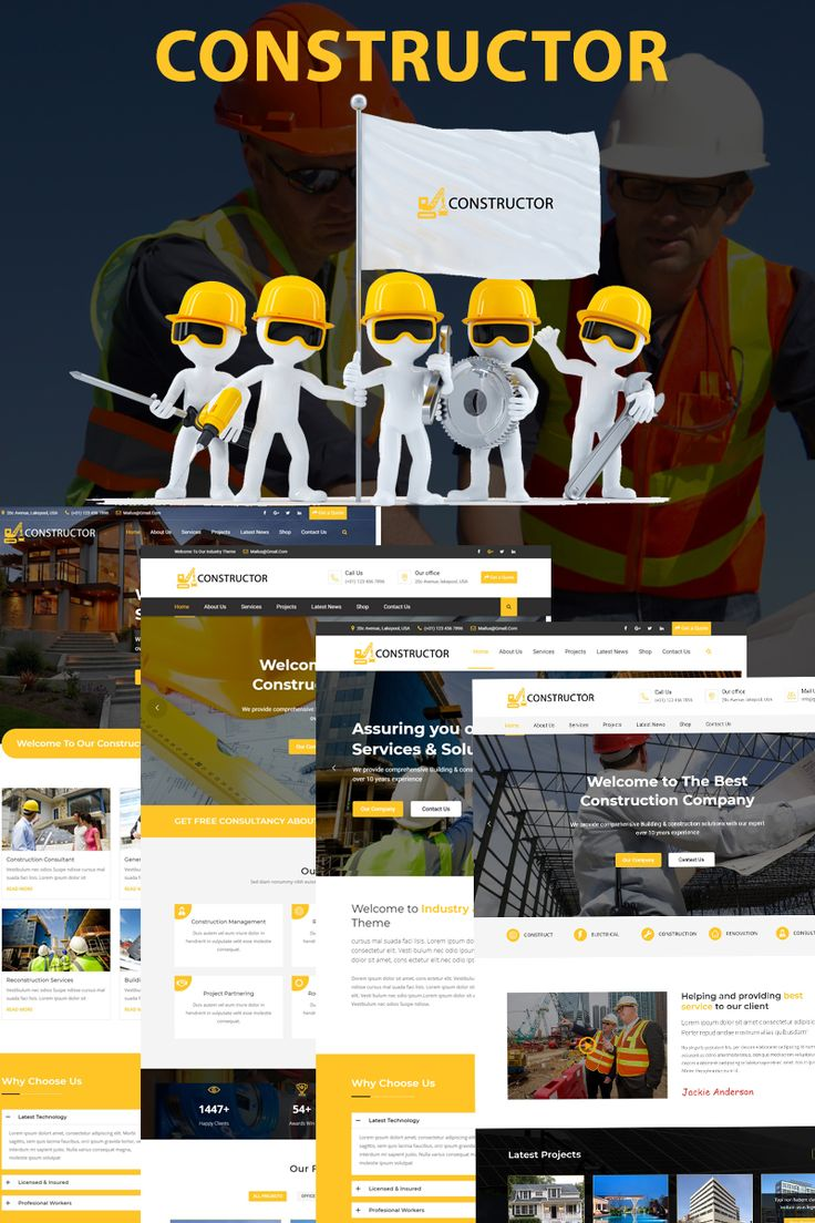 Constructor is a clean and Modern Bootstrap Template. It's a clean and beautifully designed Bootstrap template that is an ideal fit for Construction, Building Services, Architecture Engineering, industry, construction company, mechanical technique, engineering and other Construction related services.  #construction #building #design #architecture #company #website  https://www.templatemonster.com/website-templates/constructor-ultimate-construction-company-website-template-67699.html