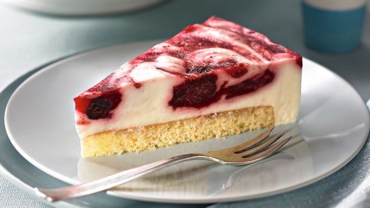 Obláčiková torta s ovocím