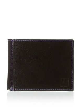 72% OFF Ike Behar Men's Slim Wallet (Brown)