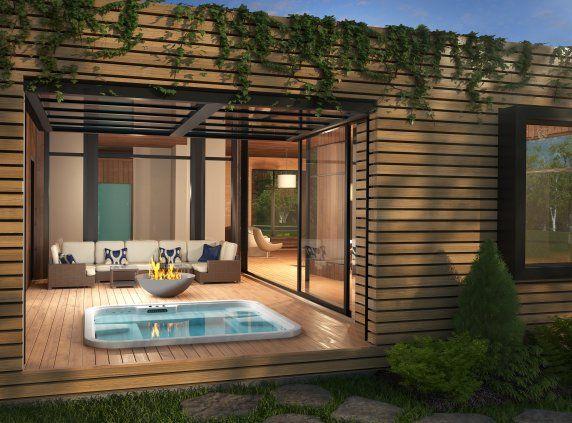 les 25 meilleures id es de la cat gorie maison bonneville. Black Bedroom Furniture Sets. Home Design Ideas
