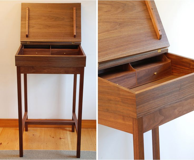 Explore A Handcrafted, Custom Wood Stand Up Or PC. Furniture MakersFine ...
