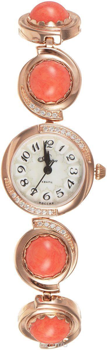 Часы женские наручные Mikhail Moskvin Флора, цвет: золотистый. 1138B8B1 Коралл