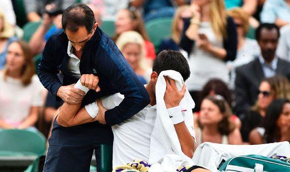 Novak Djokovic injury a worry ahead of Wimbledon quarter-final says John Inverdale