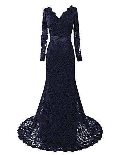Long SleevedGothic Wedding Dress