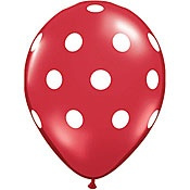 Truck Party Ideas: Polka Dot Balloons