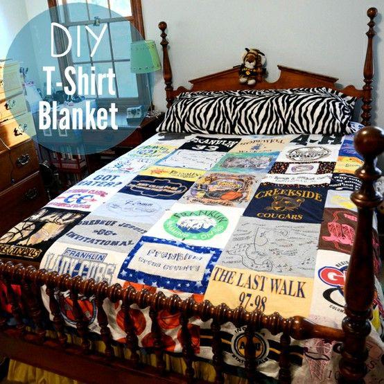t - shirt quilt !!!