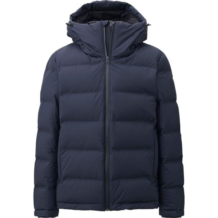 Men Seamless Down Hooded Jacket For My Man Pinterest