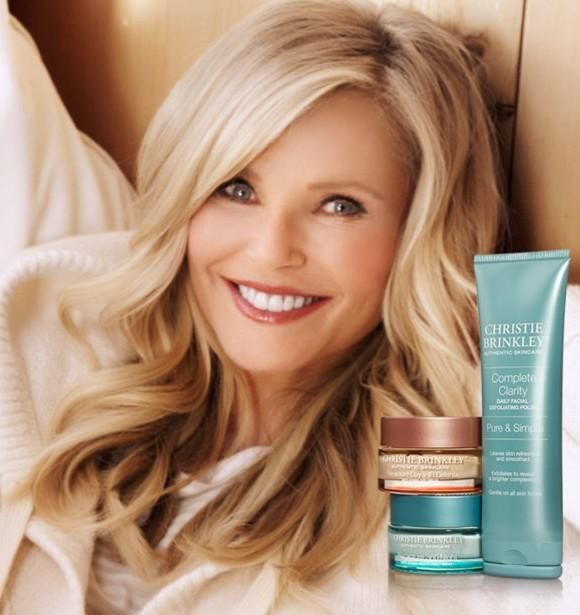Christie Brinkley Skincare Spring 2016 (Various Campaigns)