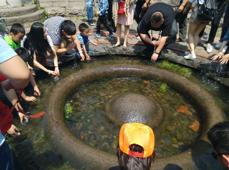 Xixin pool, which can purify human mind