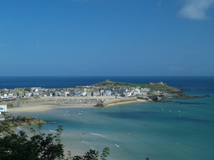 St Ives Harbour, Cornwall by Caroline Ife