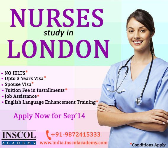 INSCOL Academy offers Study & Work options in London, with Clinical at NHS Hospitals. -Fee Starting £2750 -No IELTS -JOB ASSISTANCE!!! Contact Us at: +91-9872415333 E-mail Us at: info@inscolacademy.com