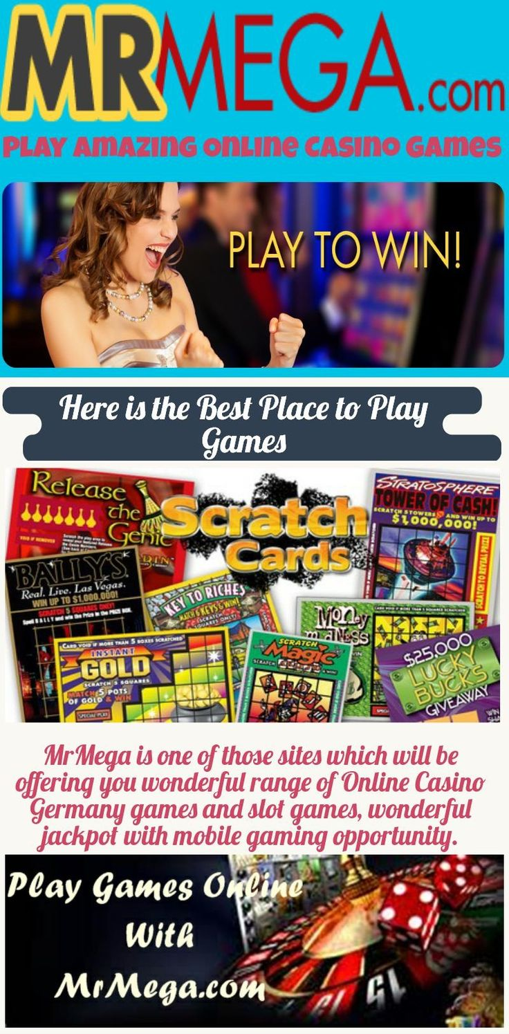 We are giving a chance for playing Online Casino games in Sweden; don't get late for playing online games just visit at mrmega.com and play amazing games. https://www.mrmega.com/Online-Casino-Germany