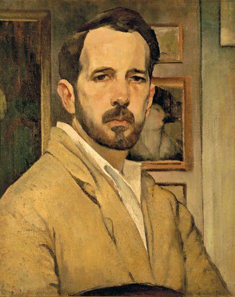Henrique Franco (Portuguese, 1883-1961), Self-portrait, c. 1920. Oil on canvas. Museu Henrique e Francisco Franco, Funchal, Madeira.