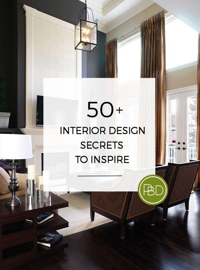 50 Interior Design Secrets