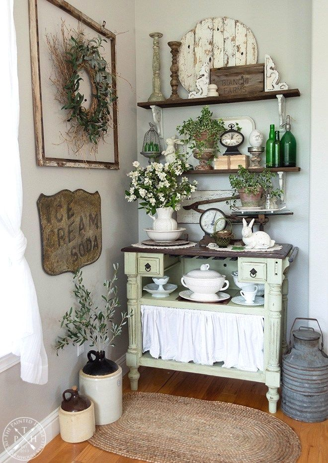 Diy Projects And Ideas For Farmhouse Shelves Country House Decor
