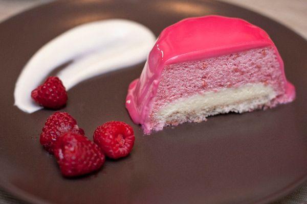 Rouge Amour. Малиново-ванильные пирожные. - Tofogo's Night Bakery