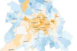 Gebürtige Berliner und Zugezogene - Wer kam, wer ging, wer heute hier wohnt